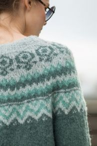 Eco Arabian knit genser