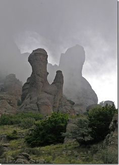 Ghost valley, Crimea / Крым, Долина привидений.