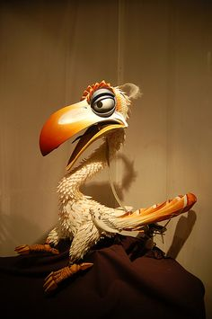 Zazu puppet from Lion King   by ken.dirkin