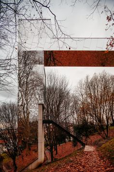 VAUMM , Aitor Ortiz, Aitor Estévez · The way through the forest. Urban reconnetion through two public lifts
