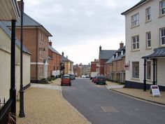Lydgate Street, Poundbury, a town that Prince Charles has created