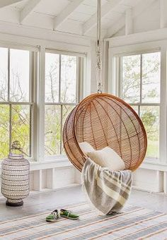 boho seating, sunroom seating
