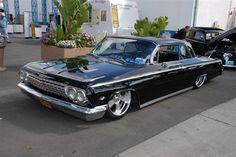 1962 Impala, slammed