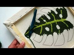 Punch Needle - Stitches in Detail - YouTube
