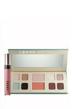 Mint Edition Eye/Cheek Palette by LORAC on @HauteLook