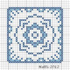 Creative Workshops from Hetti: SAL Delfts Blauwe Tegels, Deel 9 - SAL Delft Blue Tiles, Part 9., Tile 9