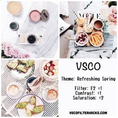 """Find and save images from the """"VSCO"""" collection by staying strong♡ (augustoswife) on We Heart It, your everyday app to get lost in what you love. Vsco Feed, Best Vsco Filters, Insta Filters, Filters Instagram, Vsco Filters Summer, Instagram Theme Vsco, Instagram Themes Ideas, White Instagram Theme, Food Instagram"""