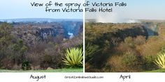 Vic Falls spray seasons