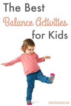 The Inspired Treehouse - These awesome balance activities for kids are so import. - The Inspired Treehouse – These awesome balance activities for kids are so import… – The Insp - Gross Motor Activities, Gross Motor Skills, Sensory Activities, Therapy Activities, Toddler Activities, Learning Activities, Physical Activities For Preschoolers, Sensory Diet, Preschool Movement Activities