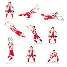 Oscar Sour Cream – Sprite Sheet for the TUC soccer game