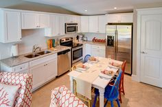 Coastal kitchen inspired by Holmes Beach Vacation Rental - Coconut Cottage Unit 4!