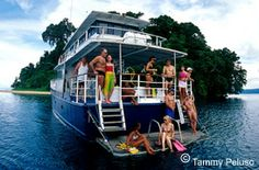 #PapuaNewGuinea's MV Febrina was voted #2 as one of the Best Overseas Liveaboards by Dive Log Australasia! #divingholiday #travel