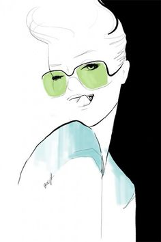 Illustration by French artist, photographer and writer Garance Doré