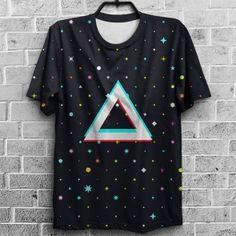 Camiseta   Triângulo Espacial