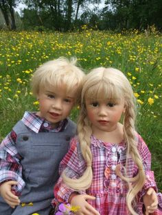 Skillята - отличные ребята. Авторские куклы Sissel Bjorstad Skille dolls / Авторская кукла известных дизайнеров / Бэйбики. Куклы фото. Одежд...