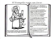 El Rincón de las Melli: Santos (Lucas evangelista)
