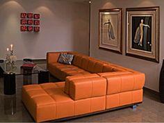 orange dcor. Interior Design Ideas. Home Design Ideas