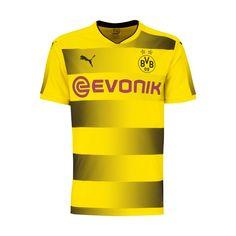 Maillot Borussia Dortmund 2017-2018 Domicile