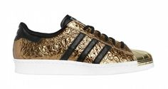 "Adidas Superstar 80s ""Metal Gold"""