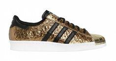 "Adidas Superstar 80s ""Metal Gold"""