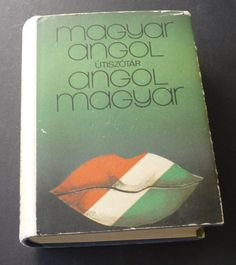 Vintage Hungarian English Dictionary  1972 edition of by JVoyage