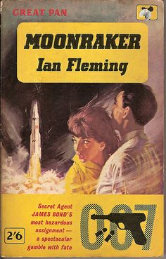 Moonraker - Pan book cover by Covers etc, via Flickr