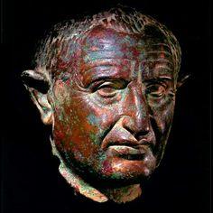 Император Vespasian. Римская империя