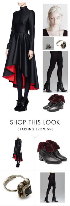 """""""The Vampires Daughter"""" by amory-eyre ❤ liked on Polyvore featuring Alexander McQueen, Etro, Wolford and Ugo Cacciatori"""