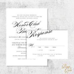 black tie elegant event invitation digital papertalescustom