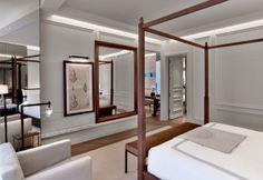 Nel nuovo Baccarat Hotel di New York, le 114 camere sono state arredate nel segno di un'eleganza contemporanea dallo studio parigino Gilles & Boissier. Décor francese sontuoso e intimo