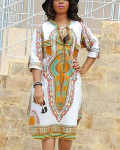 fe220fb0bed 43 Top womens Dashiki t shirt dress African print images