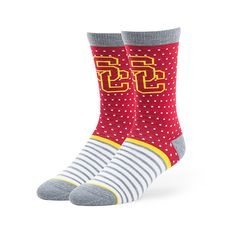 USC Bookstores, The Official Store of USC - USC Cardinal Willard Flat Knit Sock