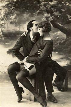 1920s  Scandal.