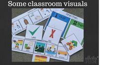 As an SLP who works with young children with significant communication needs, the topic of visuals is one that I continually re-visit thr...