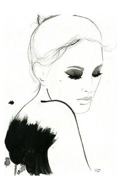 Fashion Illustrations by illustrator Jessica Durrant