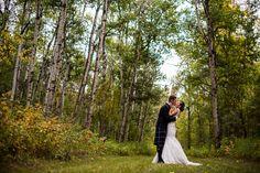 Beautiful Fall Wedding held at McKenzie Farm in Edmonton, Alberta | Destination Wedding Photography
