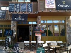 Welcome to Stalis! Find us on the beach road right in the heart of the town. Slainte Irish Pub - Stalis , Crete , Greece   (since 1995)