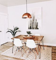 dreamy home, home decor, Inso, table, chairs, plants