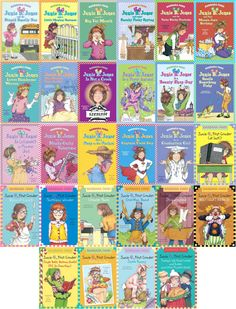 Junie B. Jones was the first full series of books that I finished. I started reading them when I was about 7 or 8, third grade, when my little sister was born. I could relate to these books a lot. I always thought the journal entries were interesting and funny to read. This was my favorite series that I read in elementary school.