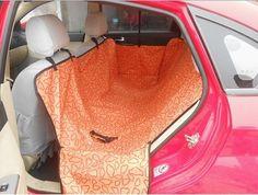 Pet Dog Car Rear Back Seat Carrier Cover Pet Dog Mat Blanket Hammock Cushion Protector