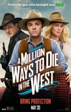 Two new posters for A Millions Way to Die in the West, the upcoming western comedy movie starring Seth MacFarlane, Charlize Theron, Amanda Seyfried, and Liam Neeson: Movies 2014, Top Movies, Comedy Movies, Great Movies, Movies And Tv Shows, Watch Movies, Movies Point, Amazing Movies, Imdb Movies