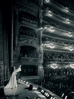 Long before turnstiles at a movie theater were part of opera, here we have in one room, Maria Callas and Luchino Visconti with … Opera Music, Opera Singers, Maria Callas, Joan Sutherland, Classical Music, Classical Opera, Phantom Of The Opera, Concert Hall, Musical Theatre