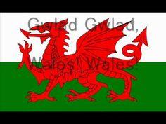 The Welsh National Anthem with lyrics - YouTube