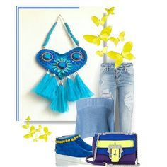 Spring is here  My hearted necklace in royal blue color combined with blue jeans and yellow details- great to start a day!!! http://ift.tt/1WHyDqb #royalblue #hearted #heartshaped #boho #bohonecklace #bohojewelry #tassel #tasselnecklace #bluejeans #casual #everyday #springoutfit #blueandyellow #fashion #fashionaddict #fashionista #etsy #handmade #handcraft #homemade #crafted #ooak #clothes #outfits #combo