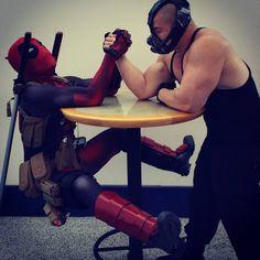 Deadpool vs bane