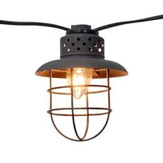 Smith & Hawken® Metal Cage String Lights (10ct)