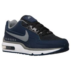 Men's Nike Air Max LTD 3 Running Shoes - 687977 041   Finish Line   Anthracite/Cool Grey/Obsidian/White