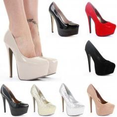 Platform High Heels Bridal Court $19.99