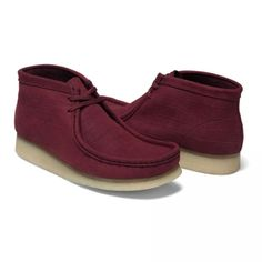 #Nubuck #Suede #Crocodile #Wallabee #Boot by #Clarks x #Supreme available at Supreme for $166.00 - Socialbliss