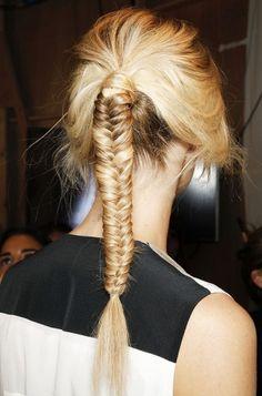 Spring 2012 braided Hairtyle trends... Jena Pierre Braganza